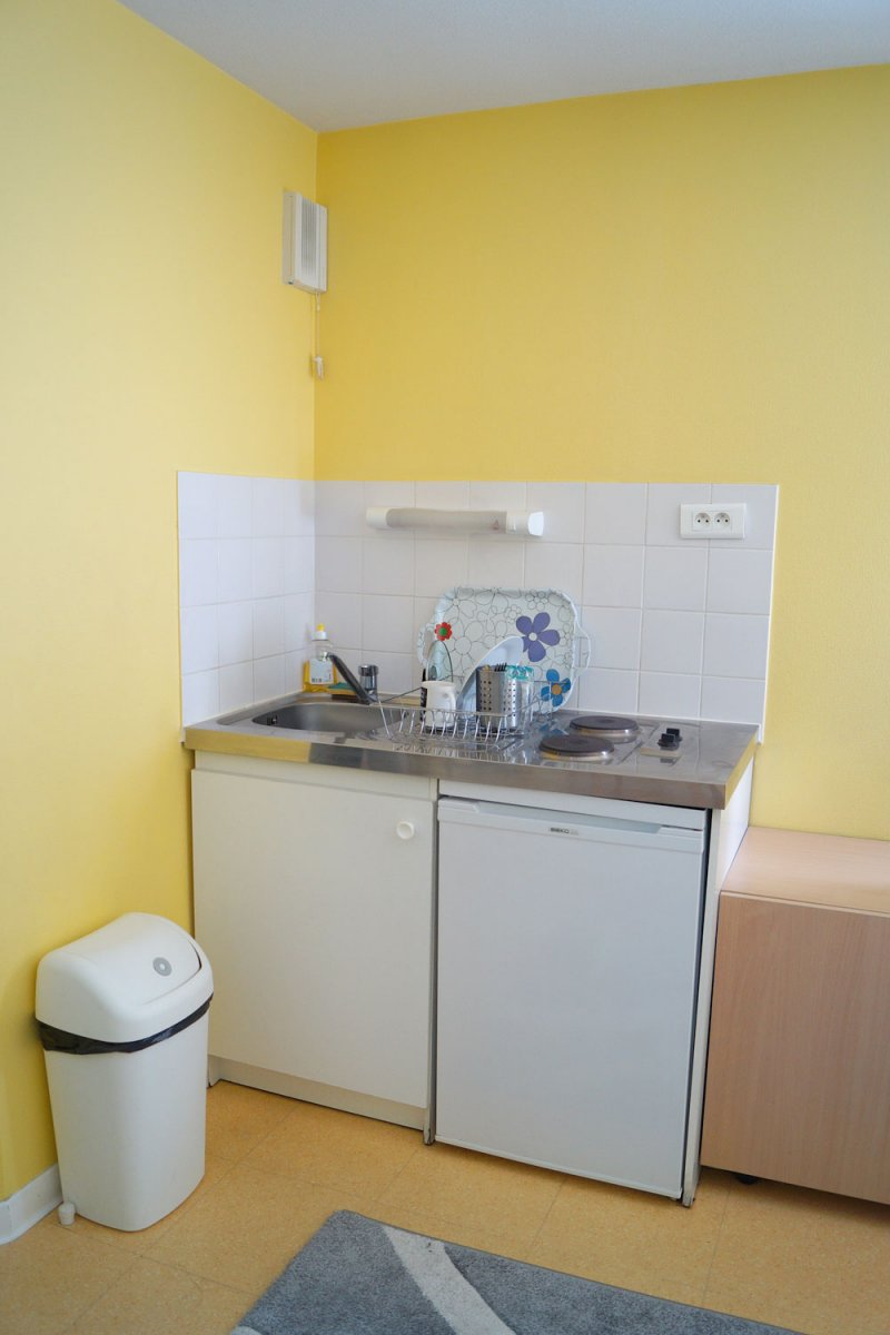 Location T1 meublé avec kitchenette Vannes